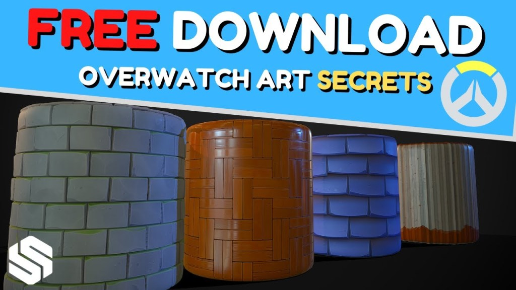 Mastering the Overwatch Game Art Style [FREE DOWNLOAD]