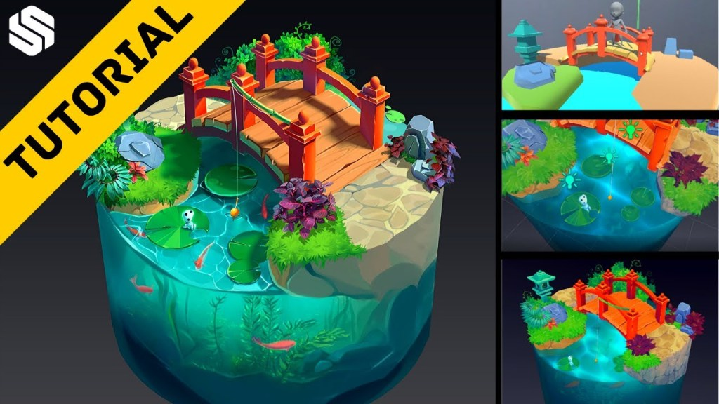 Creating your own Stylized Environments for Beginners