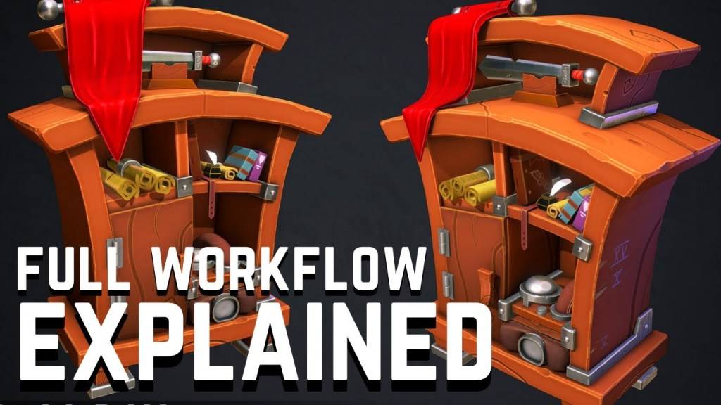 Full 3D Game Asset Workflow Explained – FULL TUTORIAL