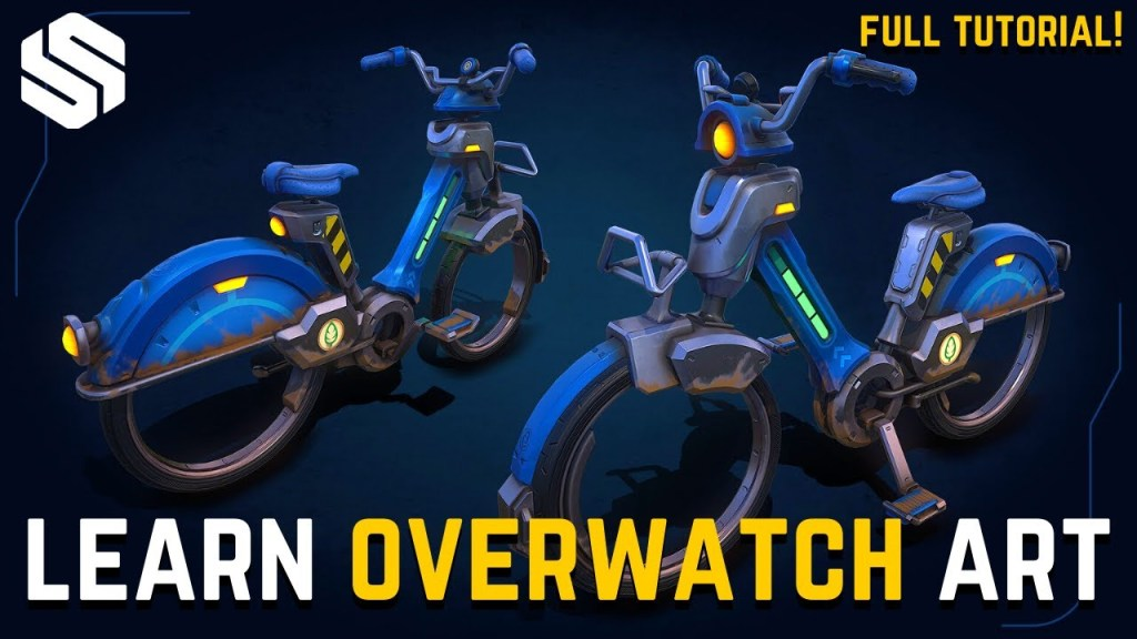 How to Create Your Own Stylized 'Overwatch-Style' Vehicles