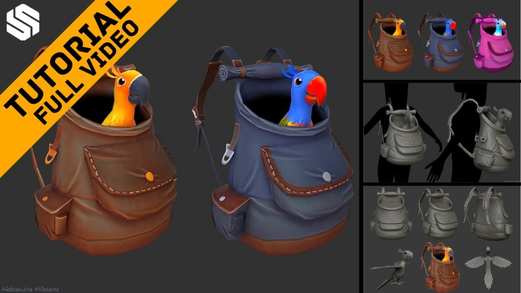 Stylized Game Assets Tutorial for Beginners