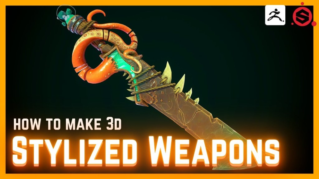 How to Model, Sculpt and Texture 3D Weapons for Games