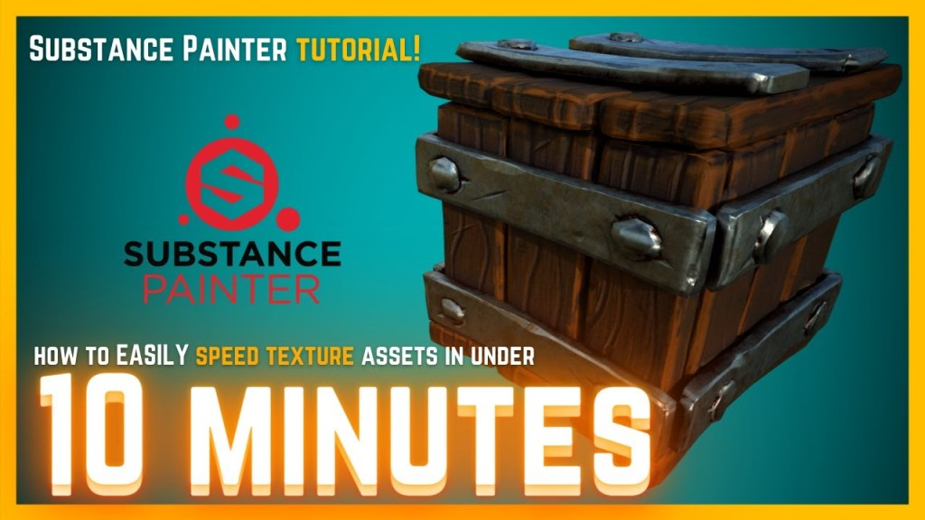 Learn how I Speed Texture Assets Using Substance Painter