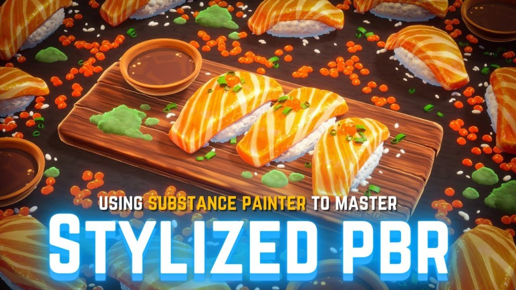 Mastering Stylized PBR Texturing Using Substance Painter