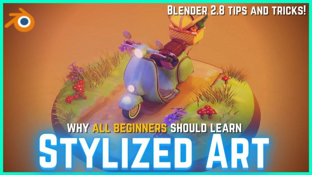 Should Beginners Learn Stylized Art? Blender Stylized Tips for Beginners