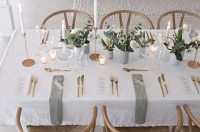 Wedding table setting | Stylizimo