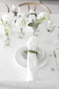 10 Christmas table setting ideas | Stylizimo