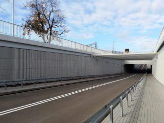 Projekt okładzin akustycznych tunelu w Mosinie
