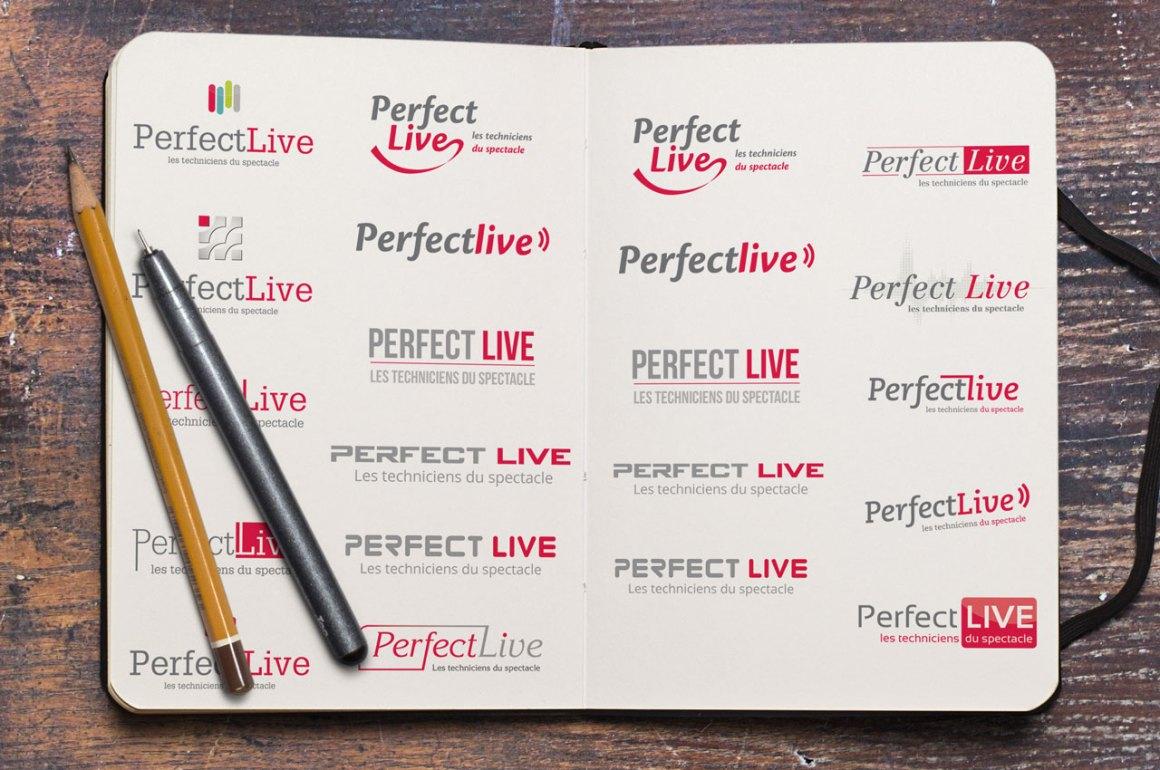 Recherche logotype Perfect Live