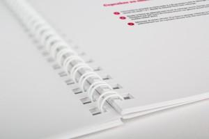 Brochure reliure Wire O