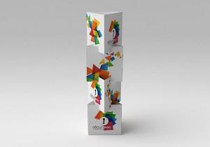 mobilier-carton-totem-3-faces
