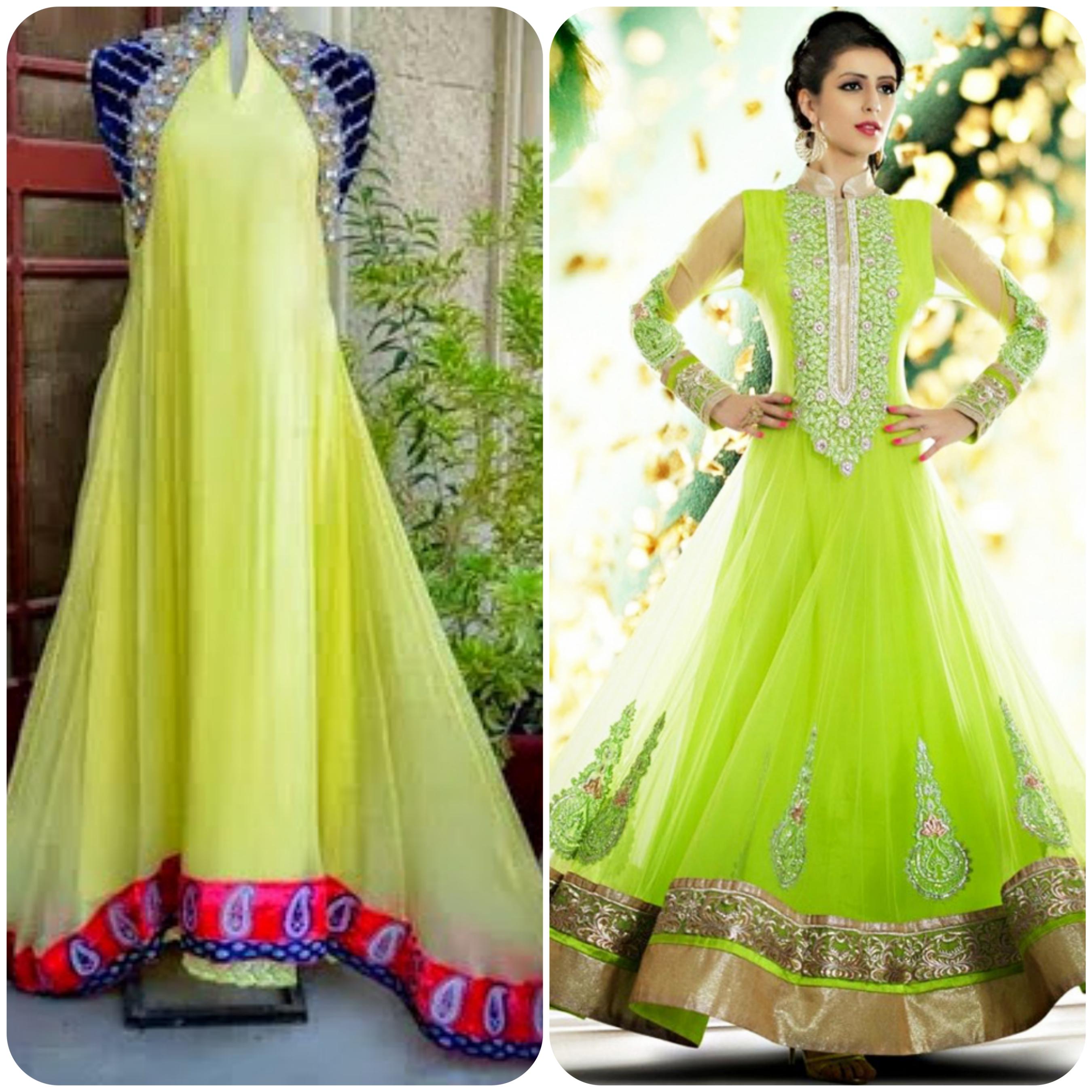 Best Design Dress for Bridal on Mehndi Function  Event  Stylo Planet