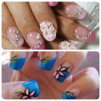 Best Rhinestone Nail Art Designs | Cool Nail Painting ...