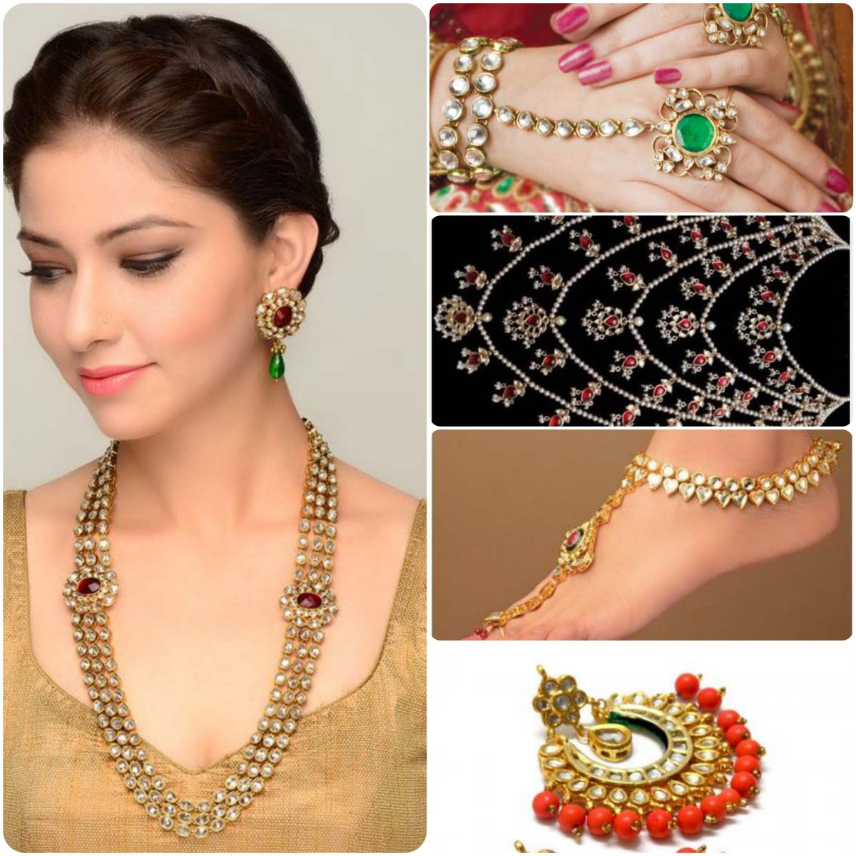 Kundan Jewelry Designs Collection For Women  Stylo Planet