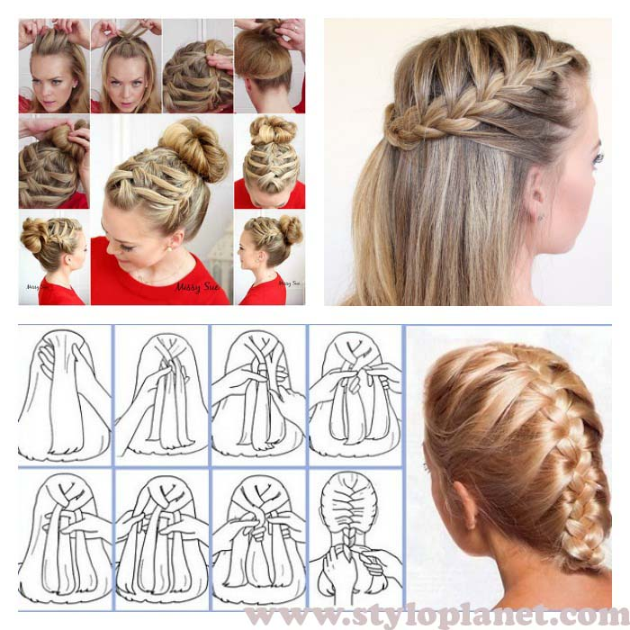 How To French Braid Step By Step With Pictures