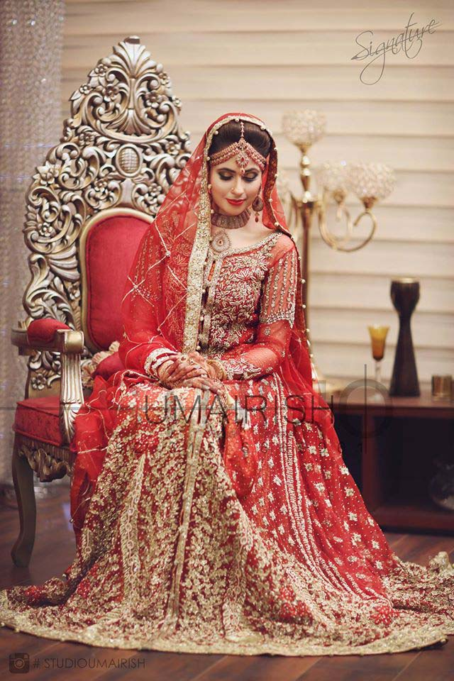 Beaufiful Designers Bridal Wear Dresses 2016  Stylo Planet