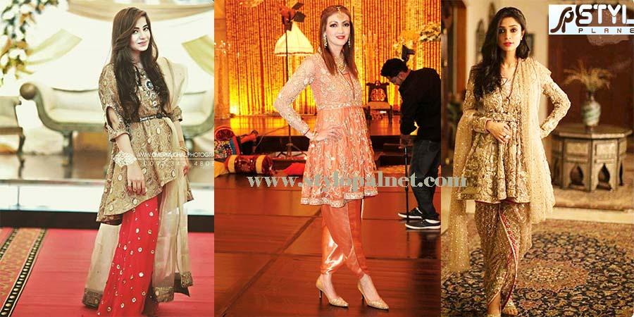 Stylish Pakistani And Indian Designers Frocks Stylo Planet