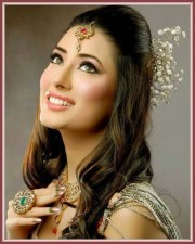 bridal hairstyles and jewelry design