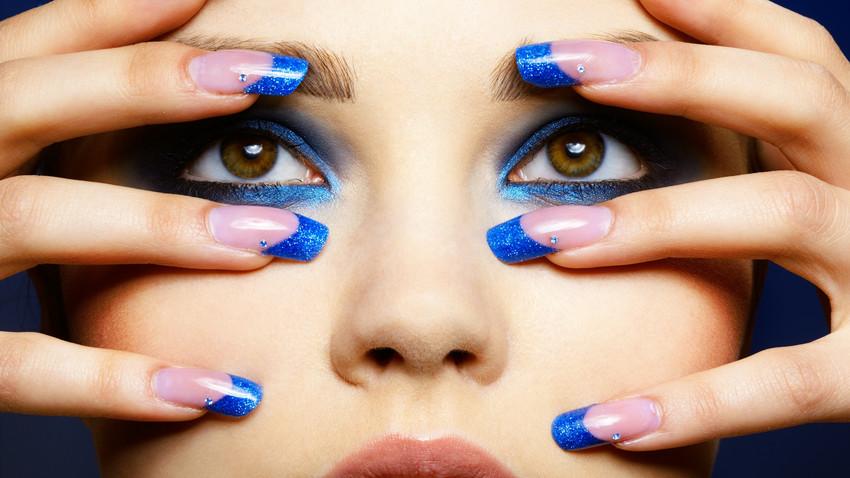 Modne wzory paznokci hybrydowych manicure hybrydowy