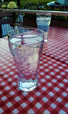 The big lemon soda is very refreshing