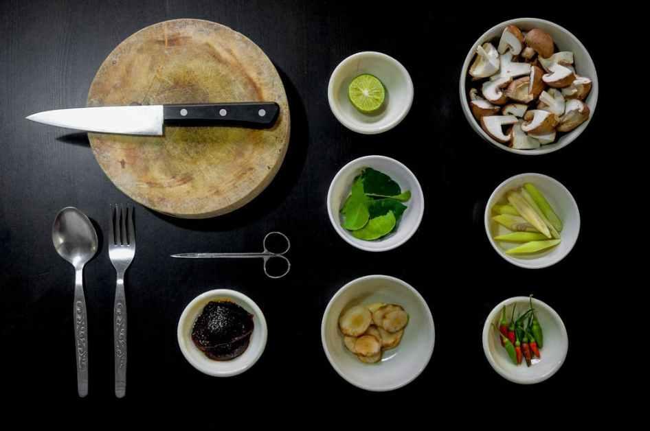 Kinadeller - med quinoa