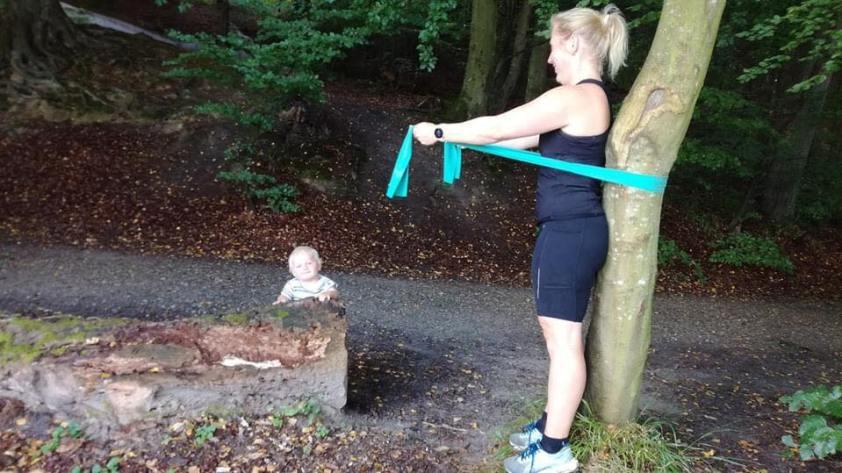 Naturtræning for nye mødre