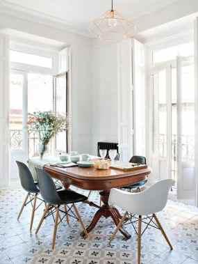 Cómo mezclar muebles modernos y antiguos - Comedor remodelado