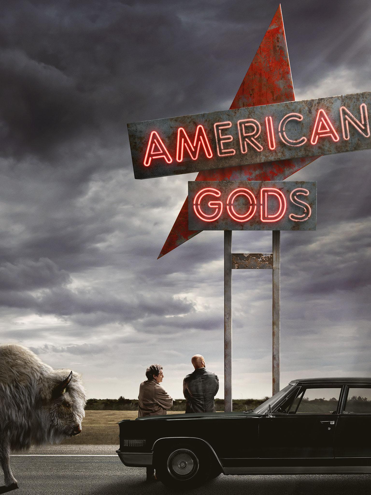 American Gods Season 1 Streaming : american, season, streaming, Watch, American, Online:, Stream, Series, STARZ, Trial