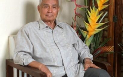 Professor Emeritus Dr. Alcala Named ASEAN Biodiversity Hero