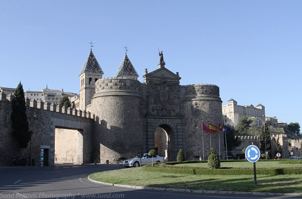 Bisagra Gate Toledo Spain