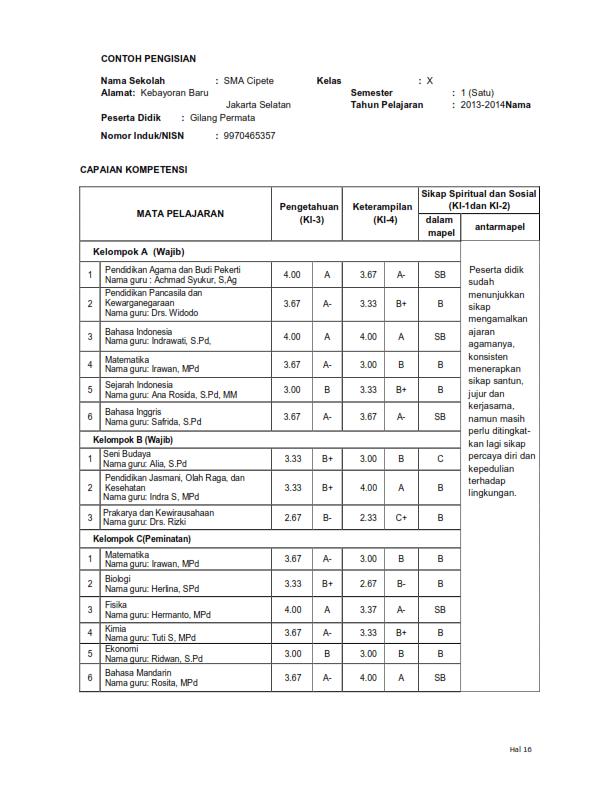 Download Aplikasi Raport Sma Kurikulum 2013 Gratis : download, aplikasi, raport, kurikulum, gratis, Format, Raport, Kurikulum, Terbaru, IlmuSosial.id