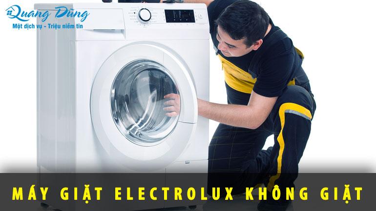 lỗi máy giặt electrolux không giặt