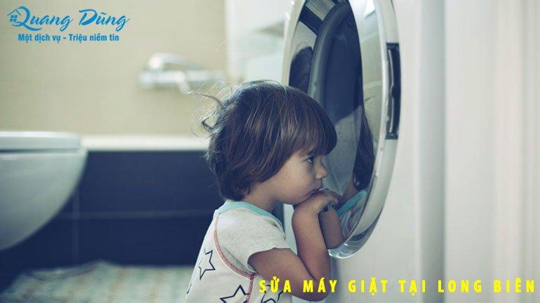 sửa máy giặt electrolux tại quận long biên