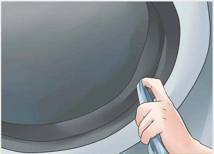 cách vệ sinh phía bên trong máy giặt