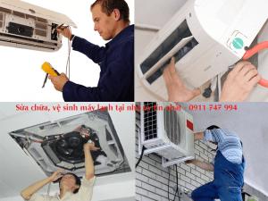 sửa chữa vệ sinh máy lạnh tại nhà