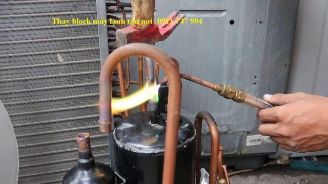 Máy nén lạnh- cung cấp và thay block máy lạnh chất lượng-phúc an khang