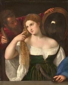 Portrait d'une Femme à sa Toilette by Titian