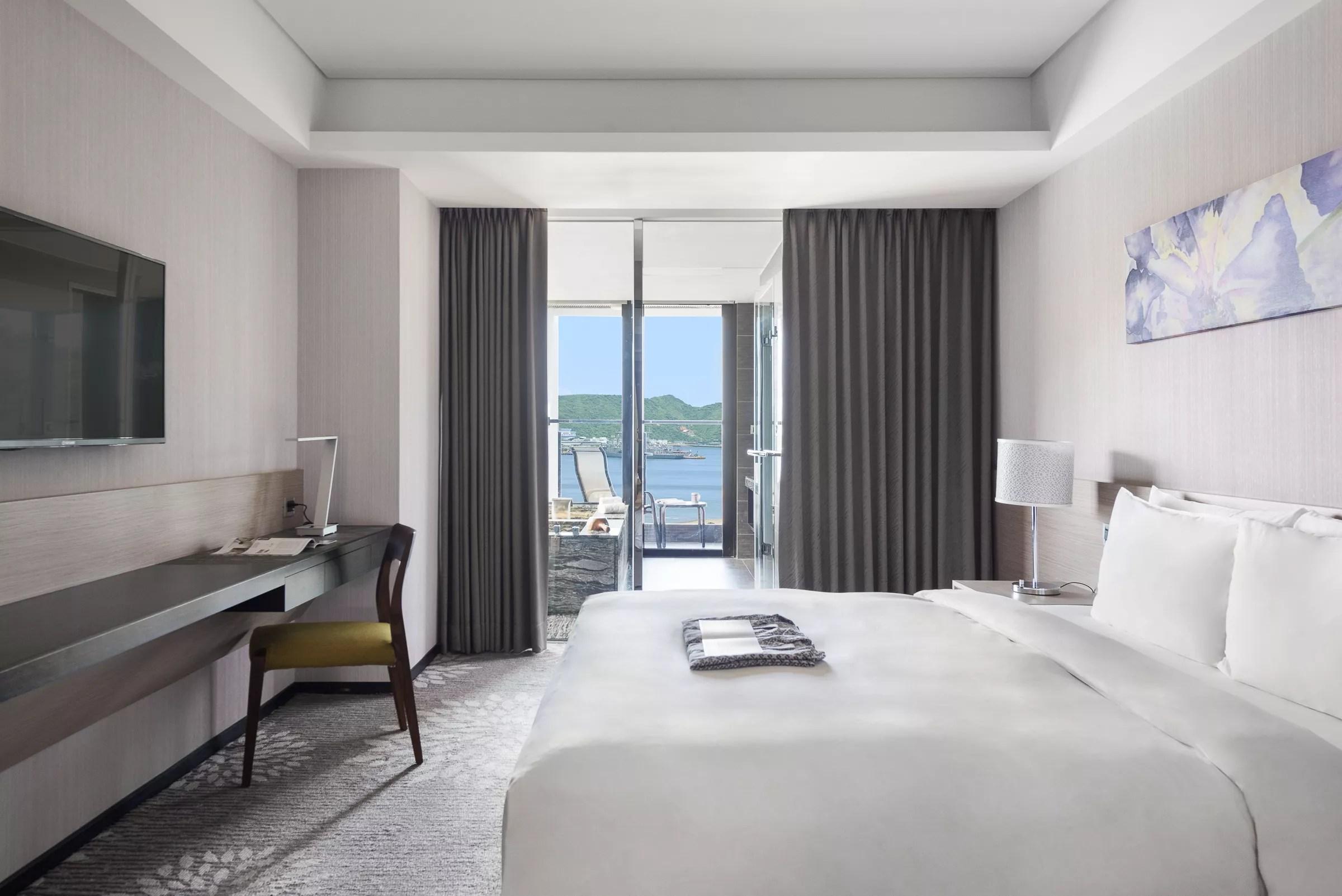 煙波大飯店 | 蘇澳四季雙泉館 | 景觀海景一大床