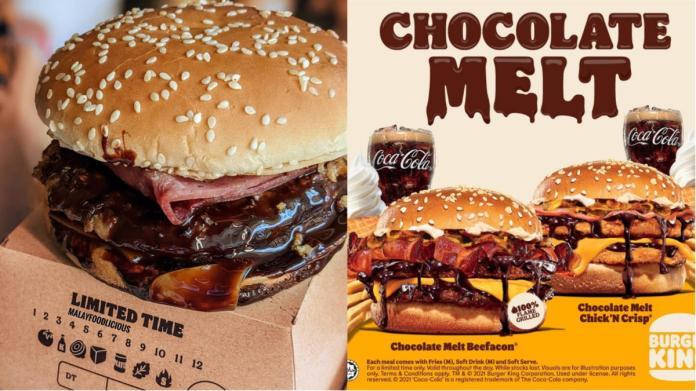Dihidang Bersama Sos Coklat, Dua Menu Istimewa Burger King Ini Sedang 'Hit' Di Malaysia