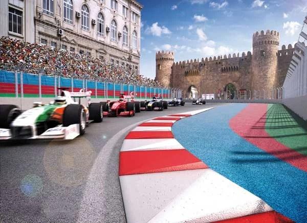 Jadi Tuan Rumah Balapan F1, Azerbaijan Siapkan Sirkuit Berpanorama Eksotis