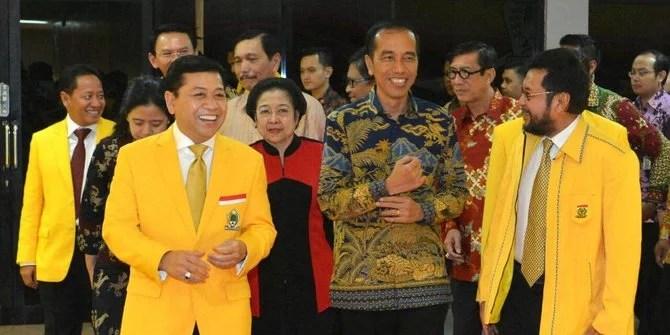 Golkar Kembali Bermanuver Manfaatkan Popularitas Jokowi