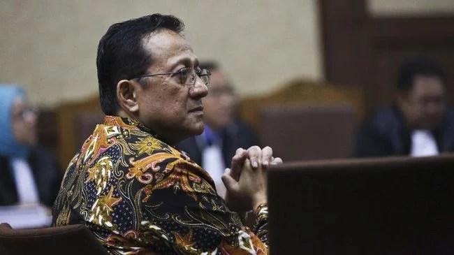 Terbukti Terima Suap, Hak Politik Irman Gusman Dicabut dan Dipidana 4,5 Tahun