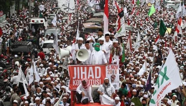 411, Aksi Politis Berkedok Islam?