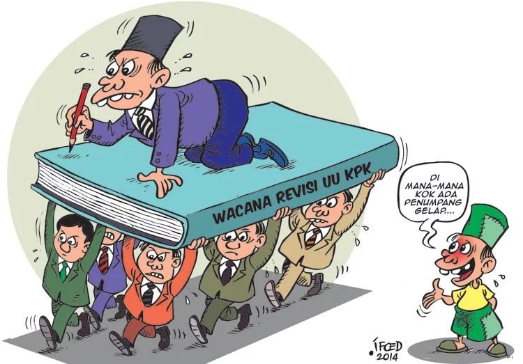 Revisi UU KPK, DPR: Tak Ada Kaitan dengan Kasus KTP-el