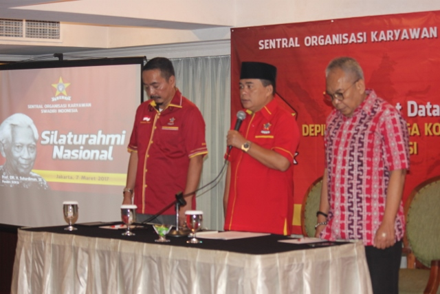 Pernyataan Sikap Depidar dan Lembaga Konsentrasi SOKSI Se-Indonesia