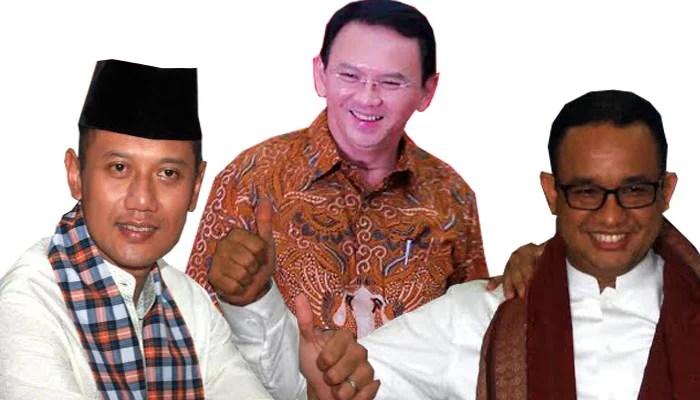 Para Kandidat Gubernur DKI Muncul di Survei Calon Presiden 2019