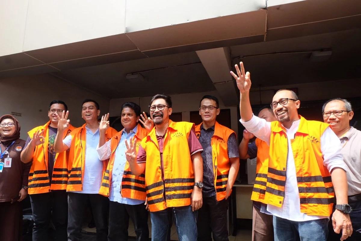 Tahanan Korupsi KPK Kompak Dukung Anies-Sandi