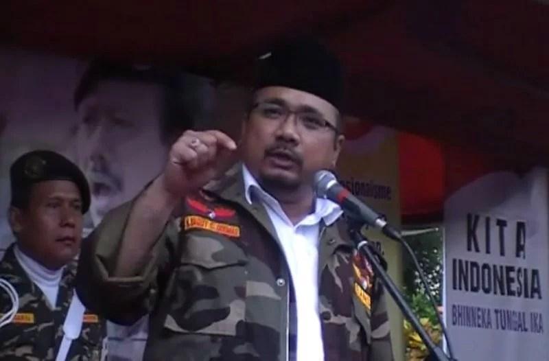 Banser Disebut Serbu Kediaman Ketua FPI, Gus Yaqut : Itu Fitnah dan Upaya Adu Domba