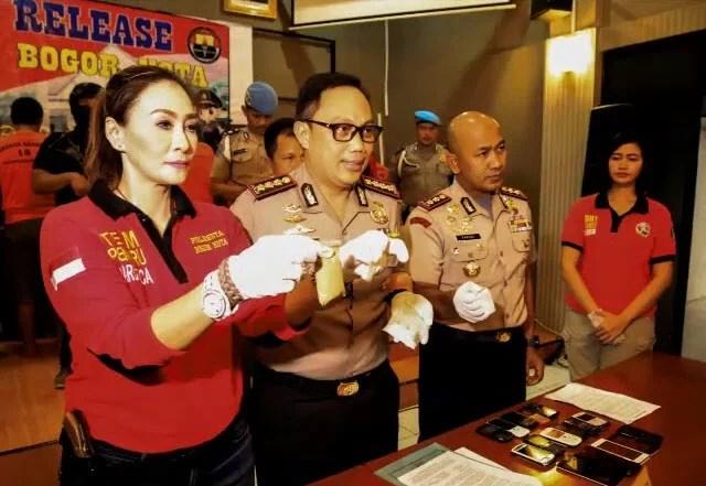 Puluhan Pengedar Narkoba Berbagai Jenis Ditangkap TPN Polresta Bogor