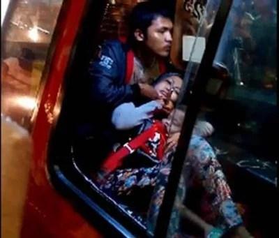 Himbauan Polisi Kepada Masyarakat Agar Waspada Saat Menggunakan Angkutan Umum